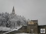 Neve nel Comune di Arezzo