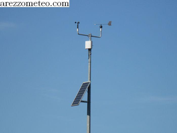 Pannello Solare Per Anemometro Oregon : Arezzo meteo altra stazione di