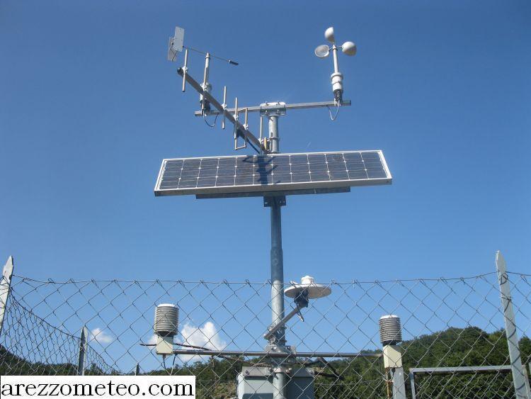 Pannello Solare Per Anemometro Oregon : Arezzo meteo stazione di pieve santo stefano