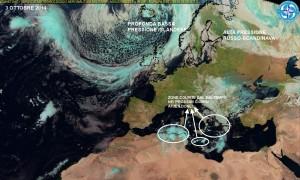 Satellite aeronautica militare ci illustra l'attuale situazione europea
