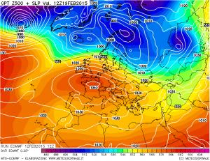 L'alta pressione tornerà presto a dominare la scena europea.