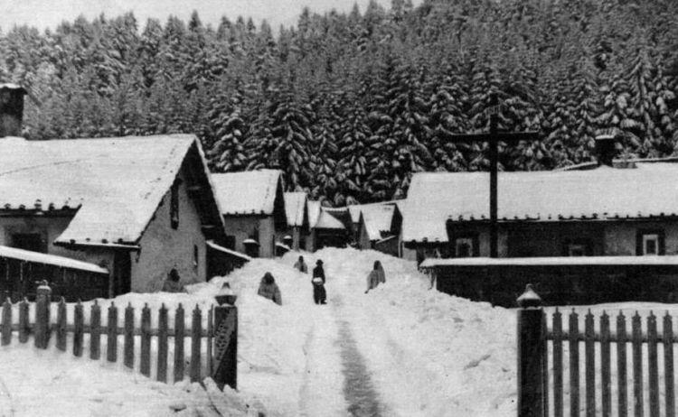 Eremo Camaldoli neve anni '20
