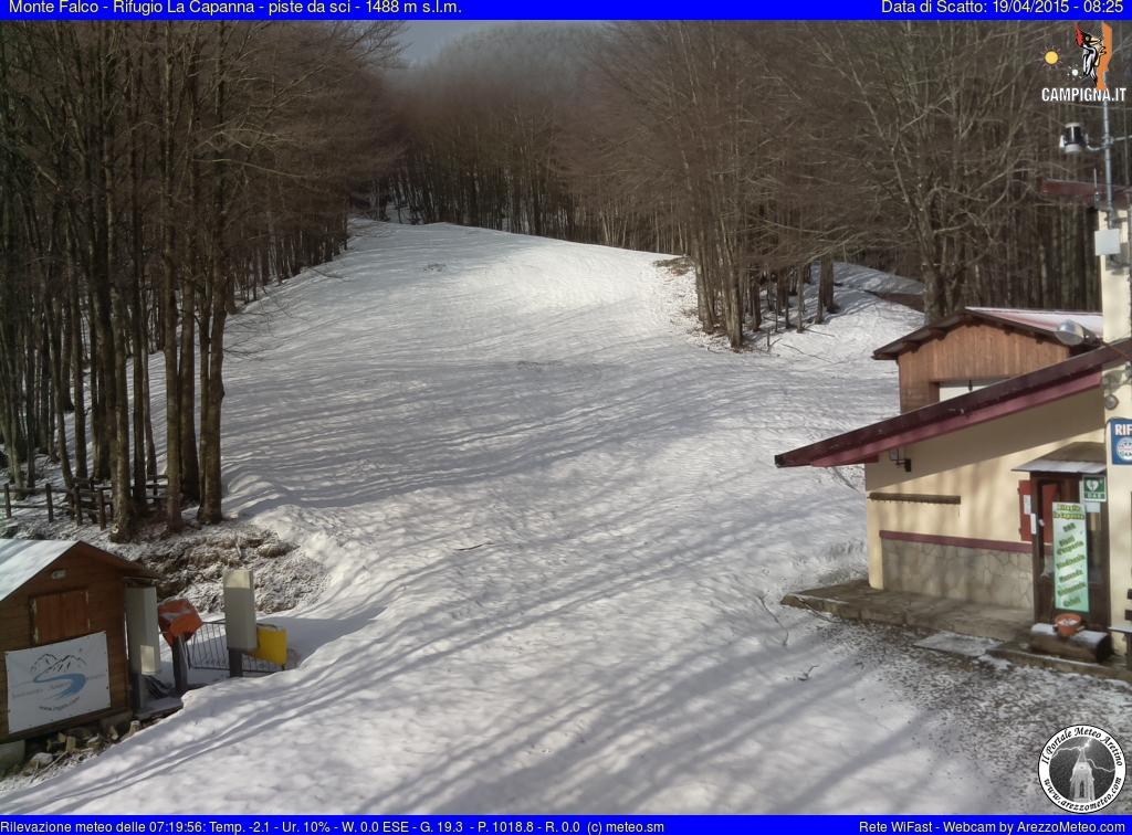 Rifugio La Capanna partenza skilift