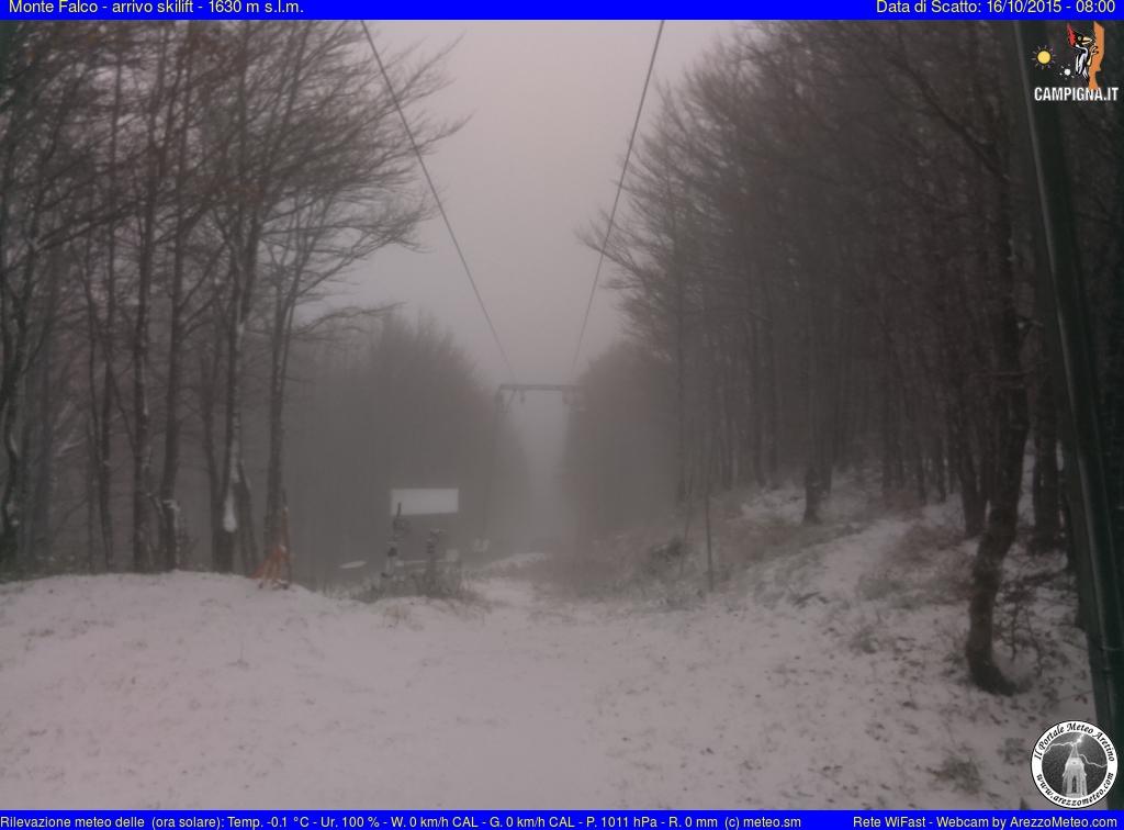 Monte Falco arrivo skilift