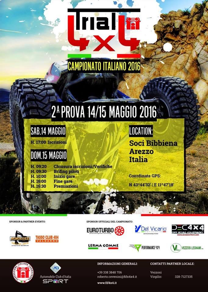 Campionato Trial 4x4 Soci 2016