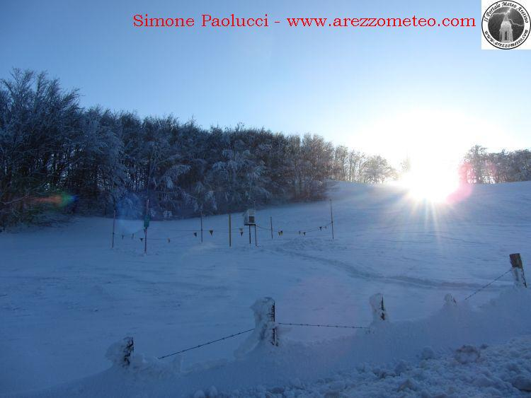 Rilevamento ufficiale neve Monte Fumaiolo 2