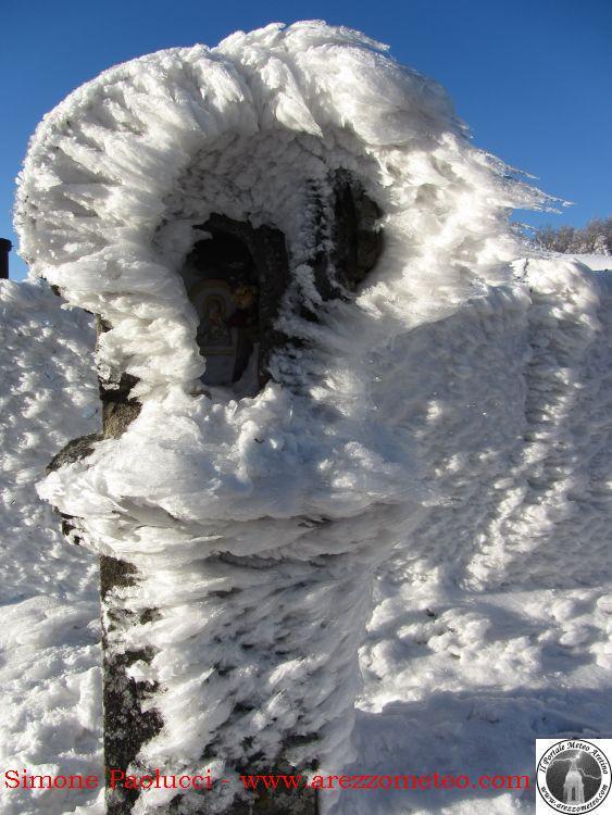 Rilevamento ufficiale neve Monte Fumaiolo 4