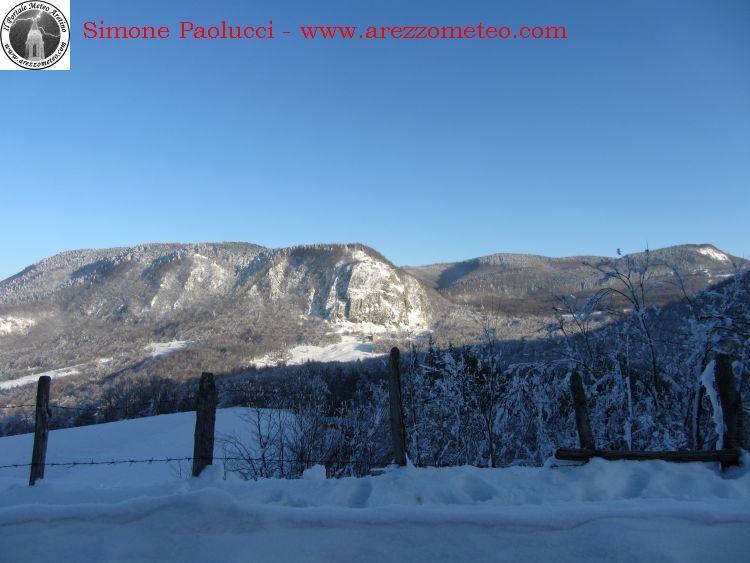 Rilevamento ufficiale neve Monte Fumaiolo 5