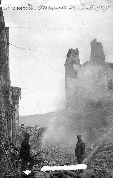 Monterchi terremoto 1917 1