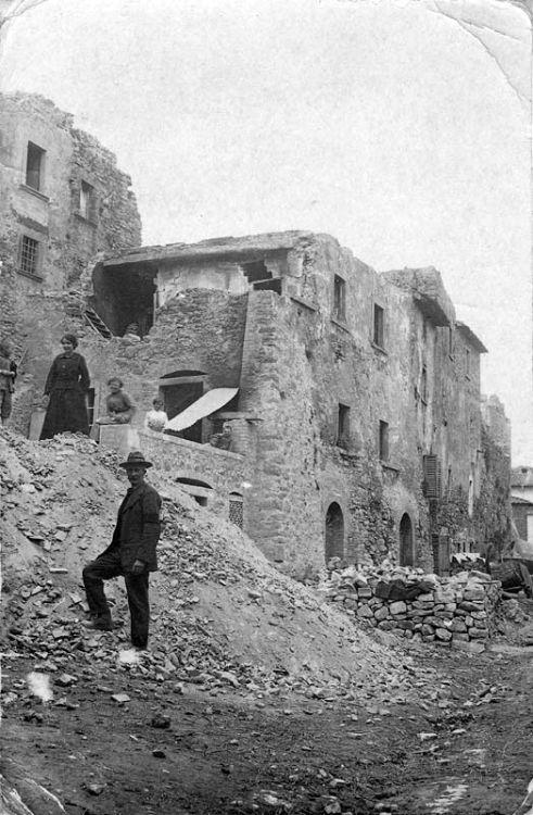 Monterchi terremoto 1917 2