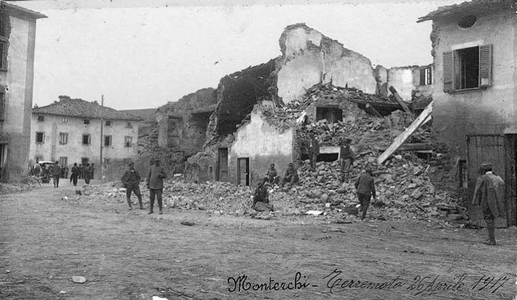 Monterchi terremoto 1917 3