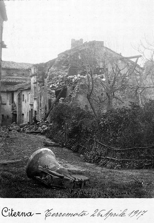 Citerna terremoto 1917