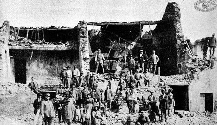 Monterchi terremoto 1917 6