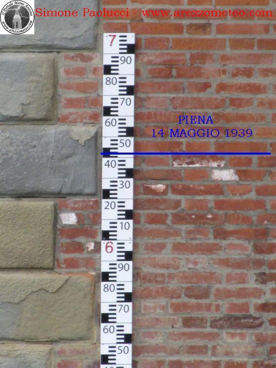 Idrometro della Chiana a Cesa 10