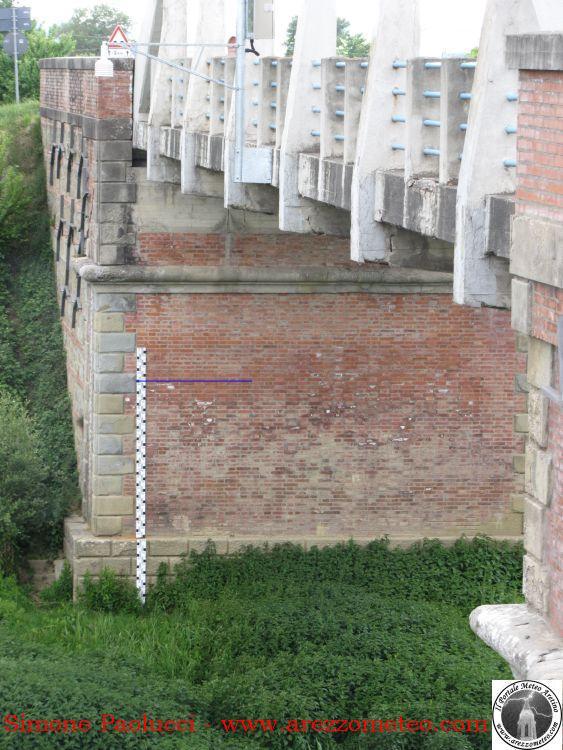 Idrometro della Chiana a Cesa 3